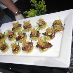 The Kowloon Filet Mignon Tart by Red Farm (NYC)