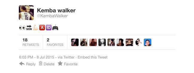 Fake Kemba tweet