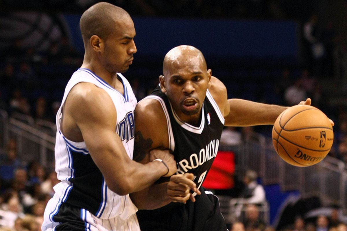 Arron Afflalo and Jerry Stackhouse