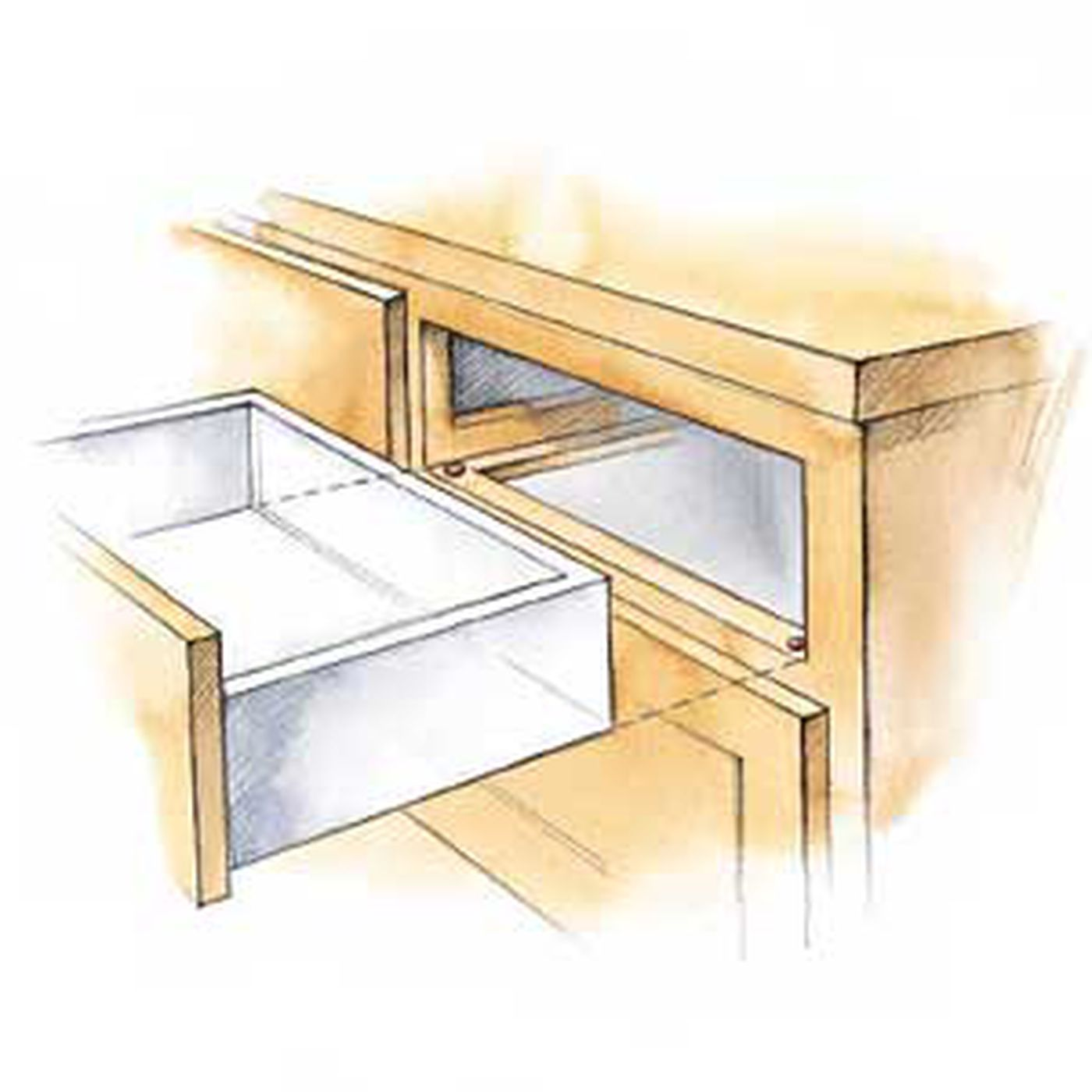 Fast Fix For Worn Drawers This Old House