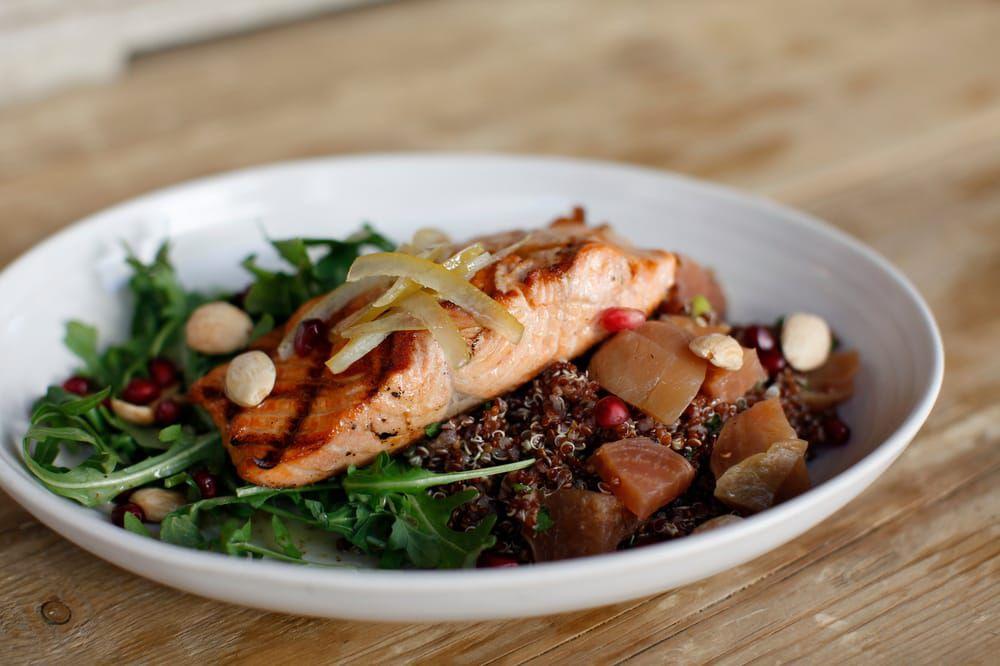A fish dish from True Food Kitchen