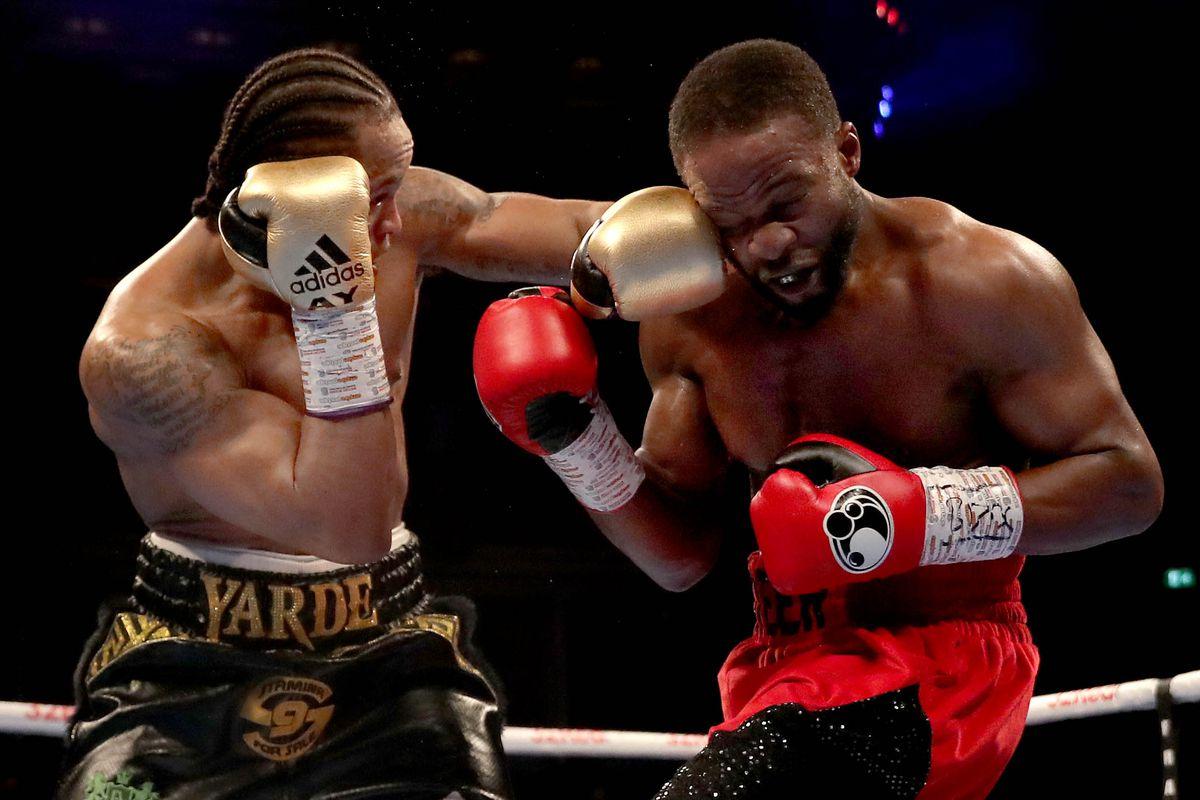 Boxing at Royal Albert Hall