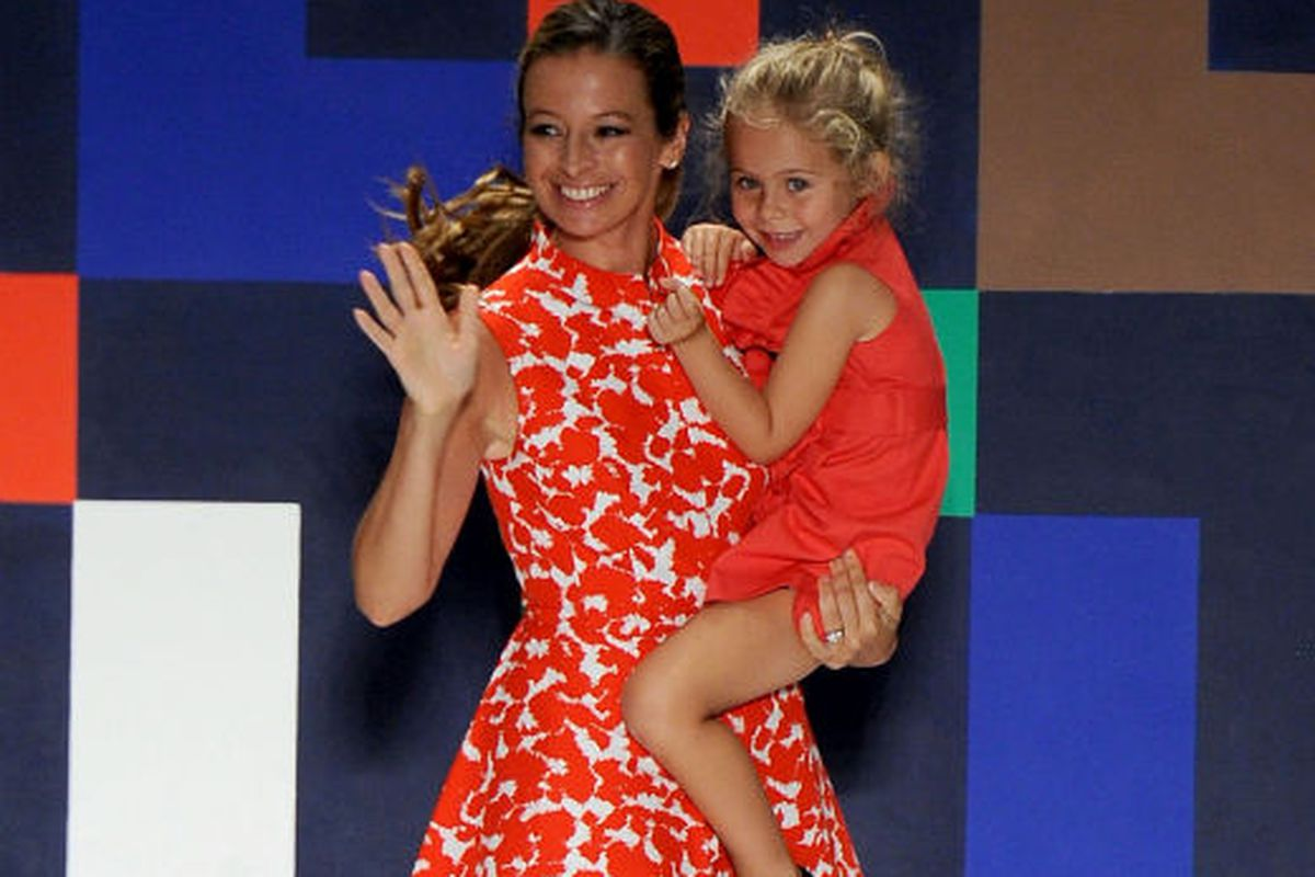 Sophia held by Michelle Smith Photo credit: Getty Images