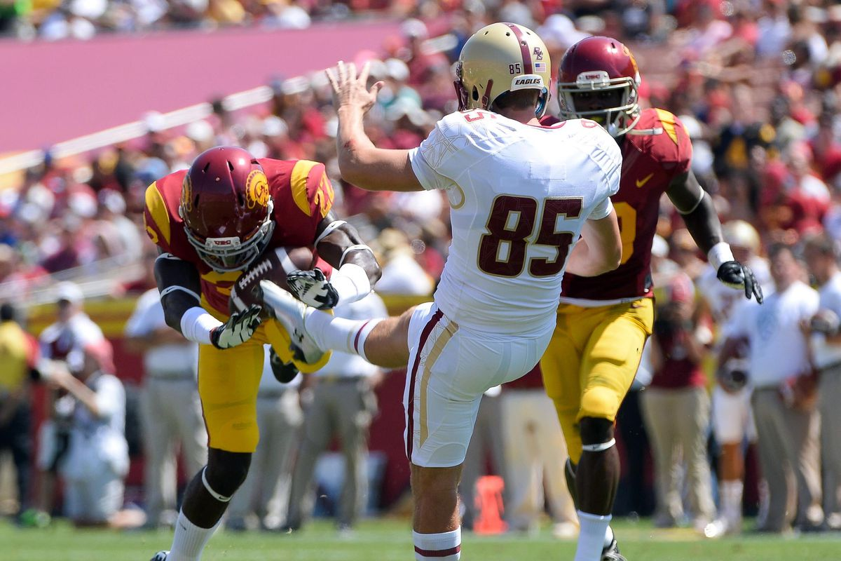 USC heads to the East Coast for a primetime matchup.