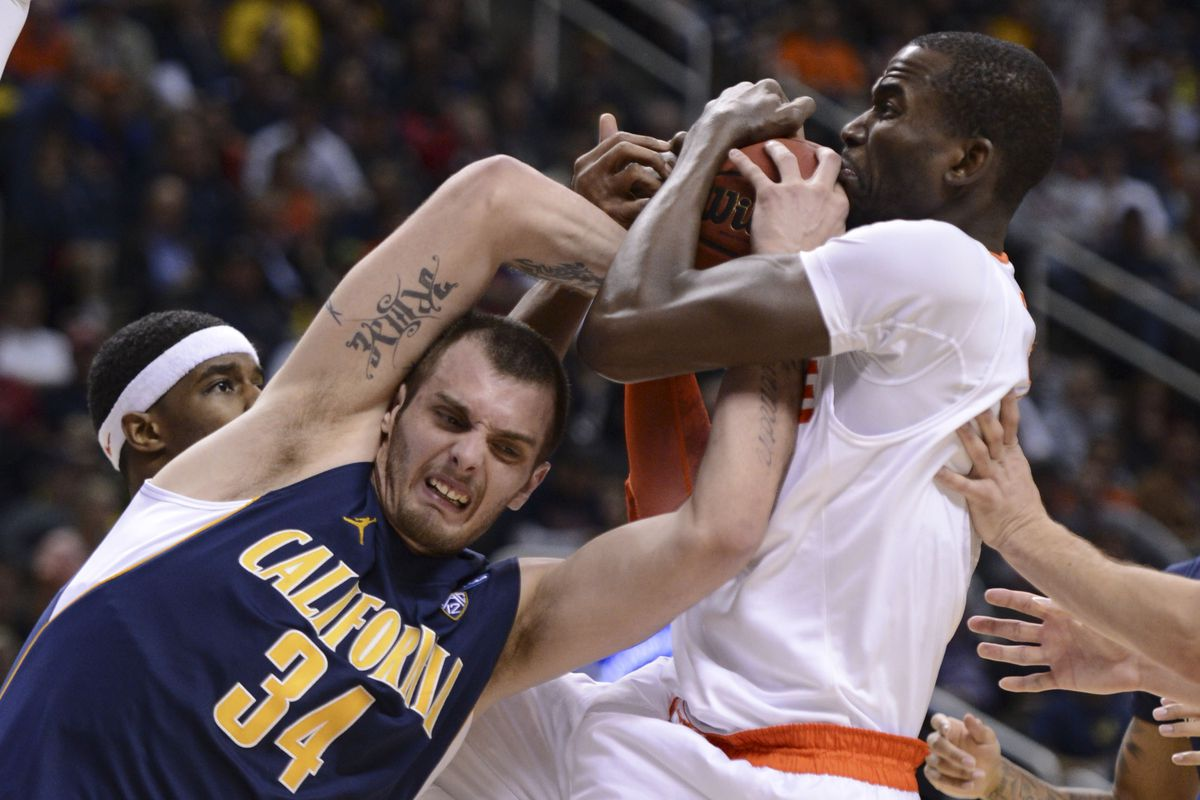 Cal Men's Basketball Vs. Syracuse Orange NCAA Tournament