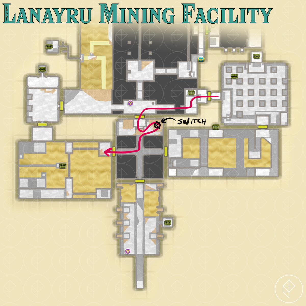 Lanayru Mining Facility walkthrough – Zelda: Skyward Sword HD guide