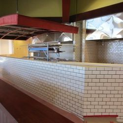 The future home of the pizza ovens.