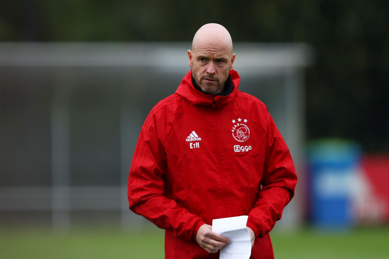Ajax coach Erik ten Hag responds to Barcelona rumors