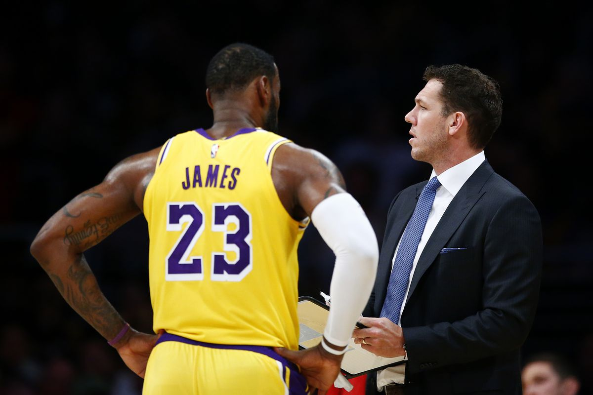 63258041f11 LeBron James  camp — surely a totally separate entity from LeBron James! —  is reportedly making it clear to everyone covering the Lakers that they  aren t ...