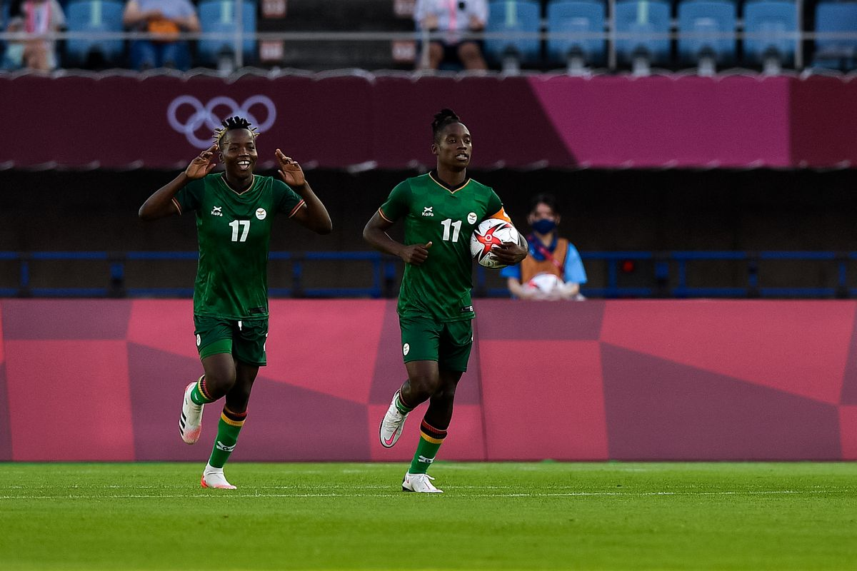 20210724 China v Zambia - Tokyo 2020 Olympic Womens Football Tournament