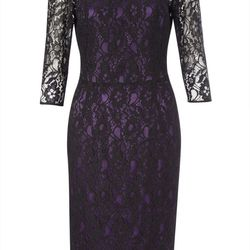 And French Connection will debut this limited-edition lace dress ($72)