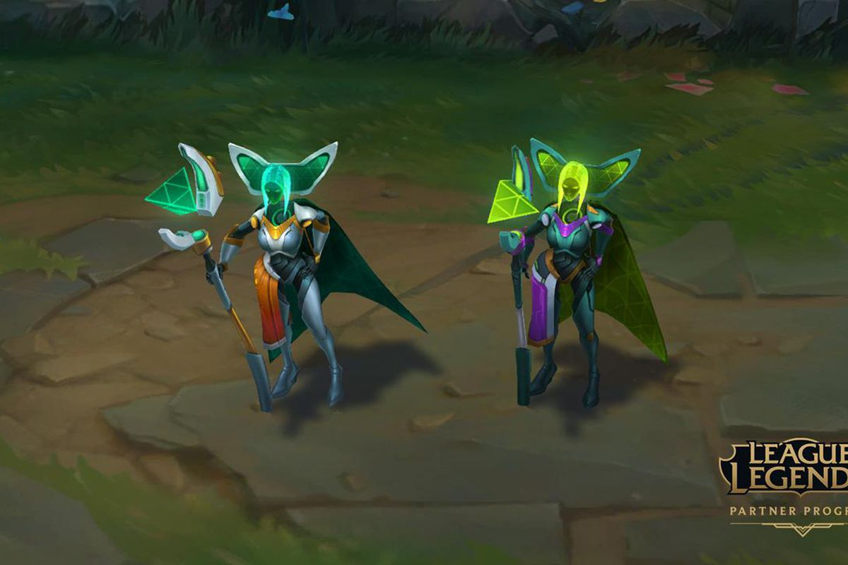 League Partner Chromas Will Be In The Blue Essence Shop The Rift