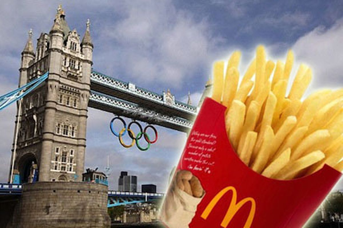 Only McDonald's Can Serve French Fries at the Olympics - Eater