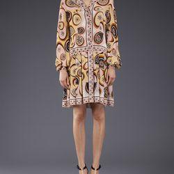 <b>Emilio Pucci</b> '60s drop-waist dress, $1250.