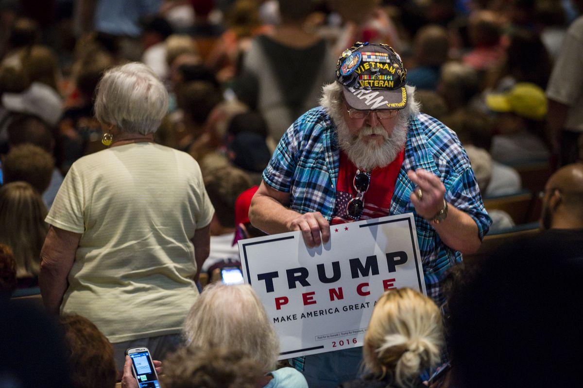 GOP Presidential Nominee Donald Trump Campaigns In Toledo, Ohio