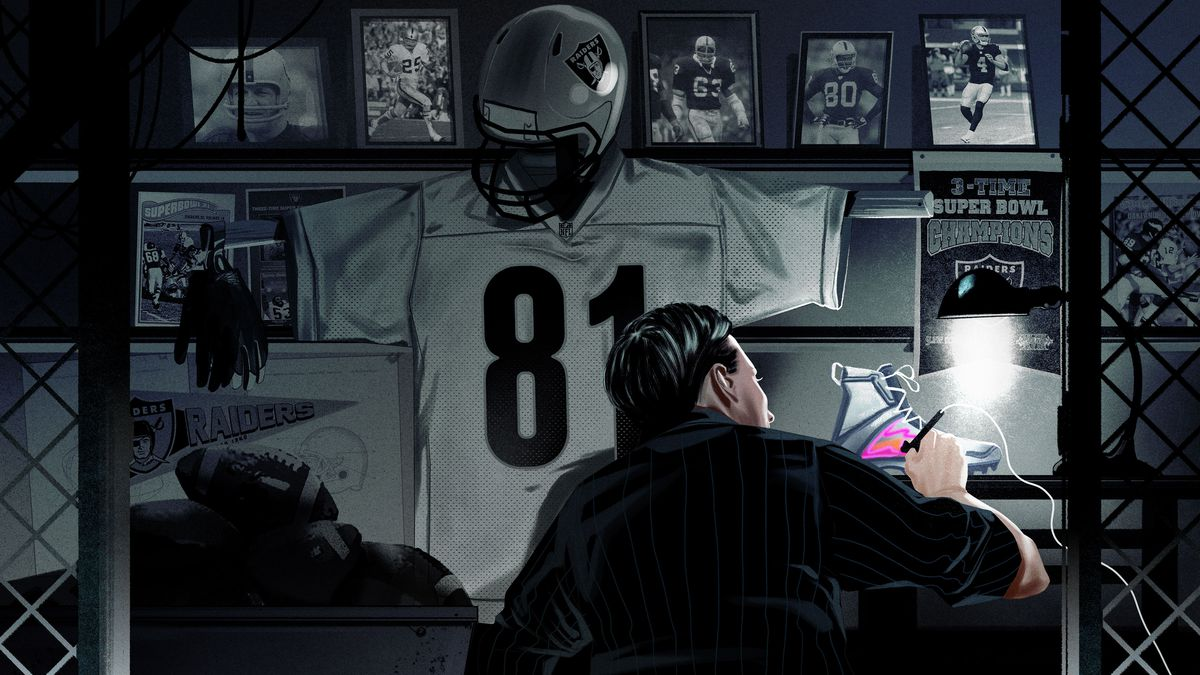 pick up 233f8 bea05 How the Romanskis Became the Oakland Raiders' Parallel to ...