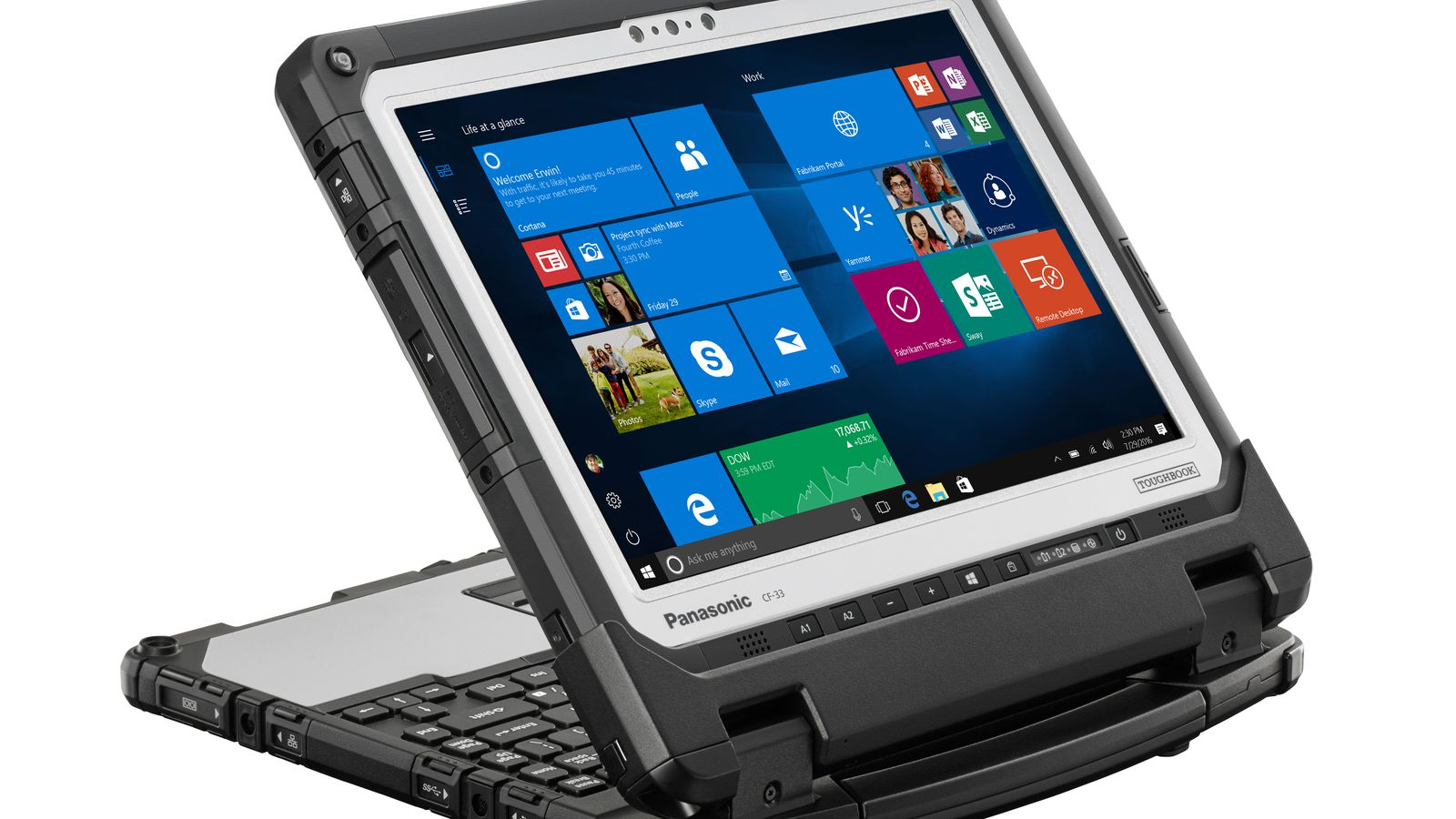 Panasonic's latest Toughbook hides a surprisingly good
