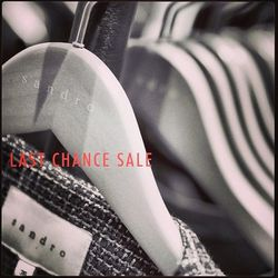 """<a href=http://instagram.com/sandrousaofficial>@sandrousaofficial</a>: """"Last chance to shop the @sandrousaofficial Spring-Summer '13 sale! All men's and women's Spring and Summer styles are now up to 60% off. #finalsale #Sandro #summer #shop"""""""