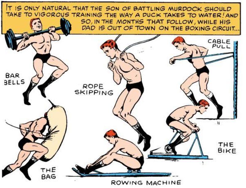 Daredevil training
