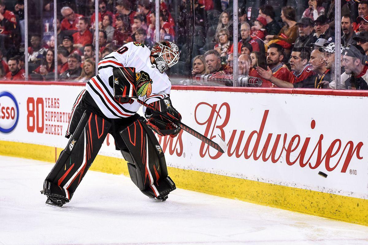 NHL: FEB 15 Blackhawks at Flames