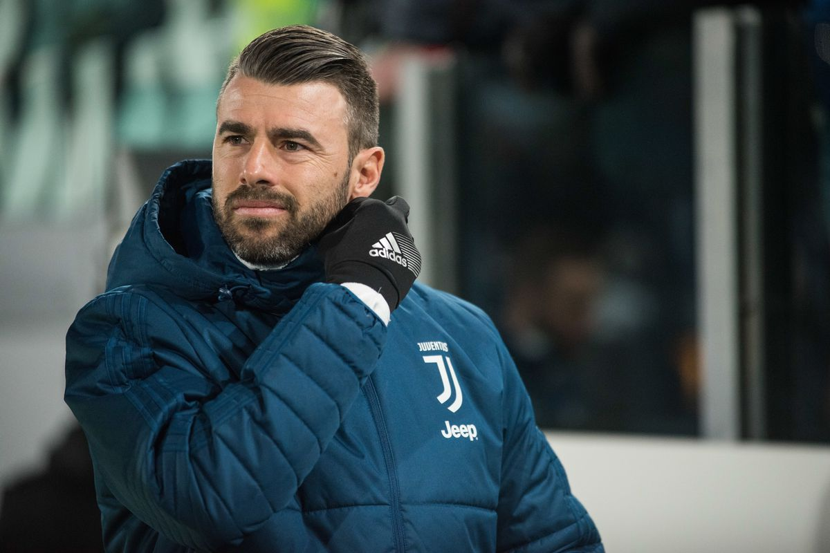 Andrea Barzagli (Juventus FC) during the Tim Cup football...