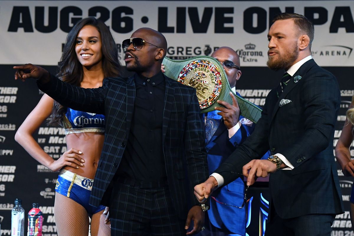 21aa048076f Conor McGregor tweeted 2 years ago that Floyd Mayweather can't be beat in  boxing