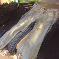 Boyfriend jeans, $50