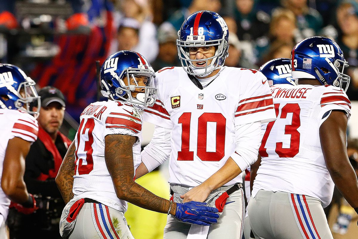 The Giants need to get these two guys some help