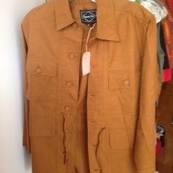 Outpost Jacket in Earth, $206 (was $295)