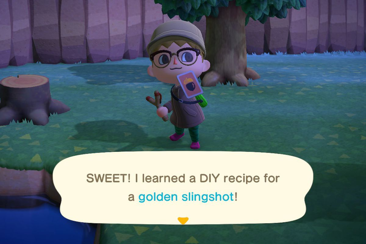 How To Get Golden Tools In Animal Crossing New Horizons Switch Polygon