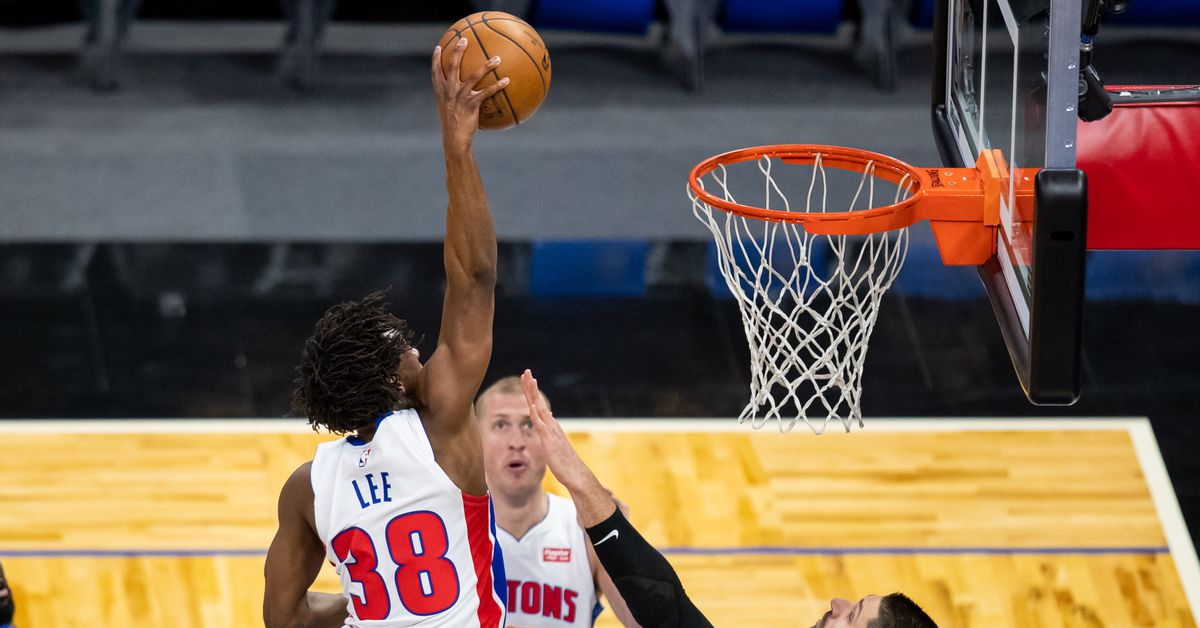 Saben Lee has the three most vicious (missed) dunks of the NBA this season - Detroit Bad Boys