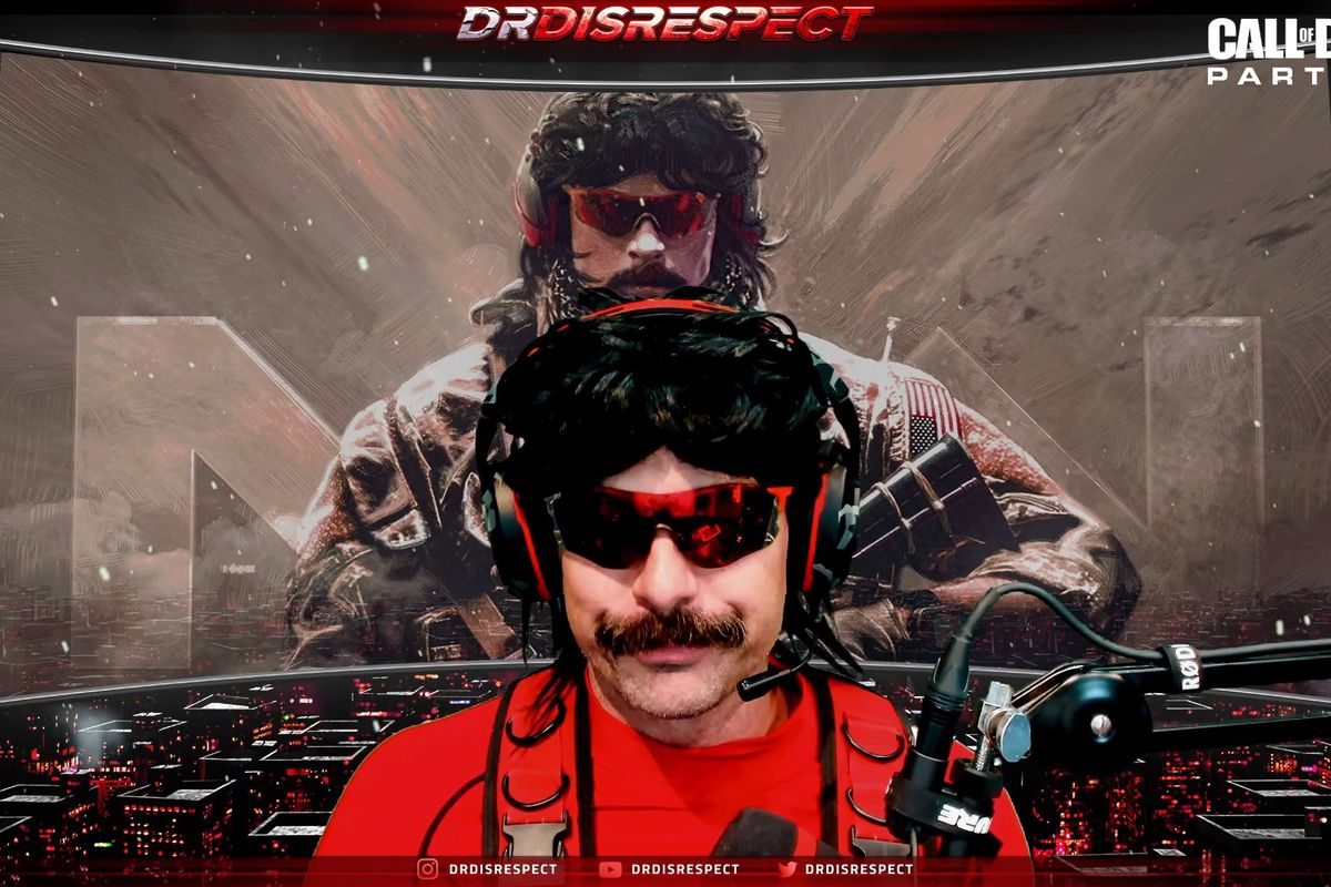 Dr. Disrespect on his stream