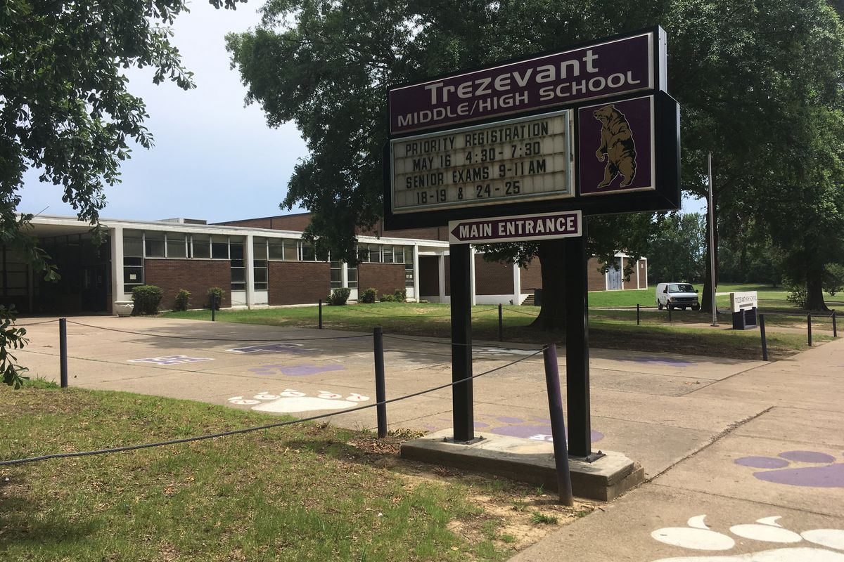 Trezevant High School serves the Frayser community under Shelby County Schools in Memphis. A former principal's allegations of grade tampering led to several internal and external investigations.