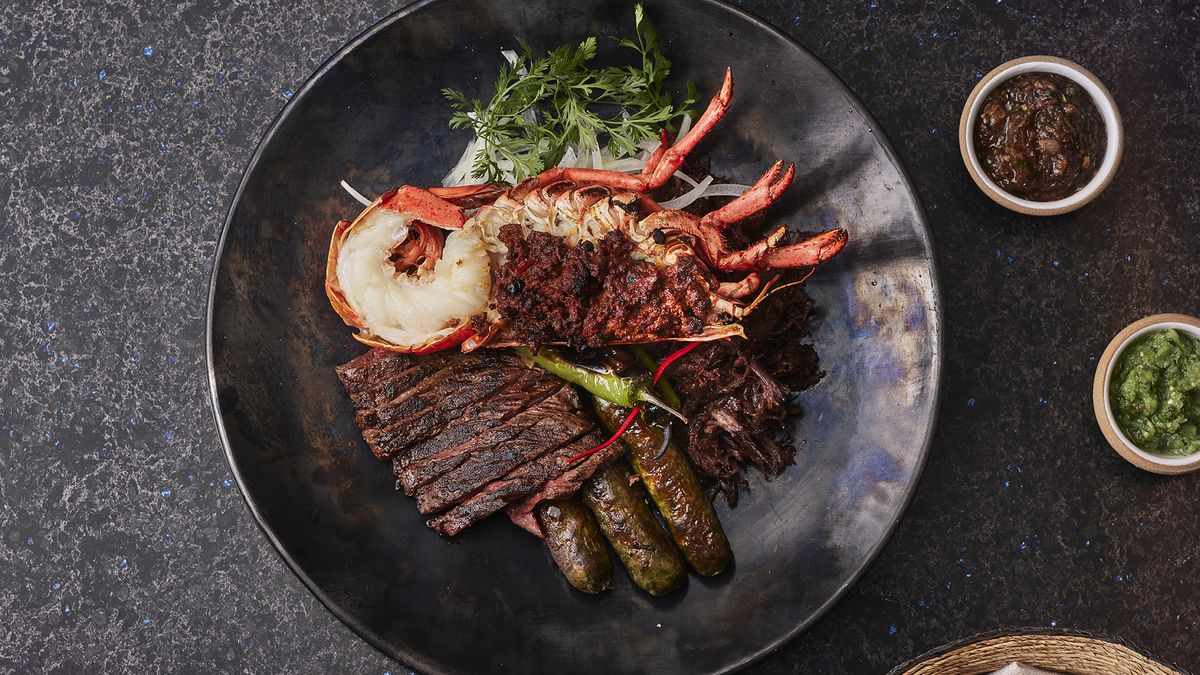 A surf and turf