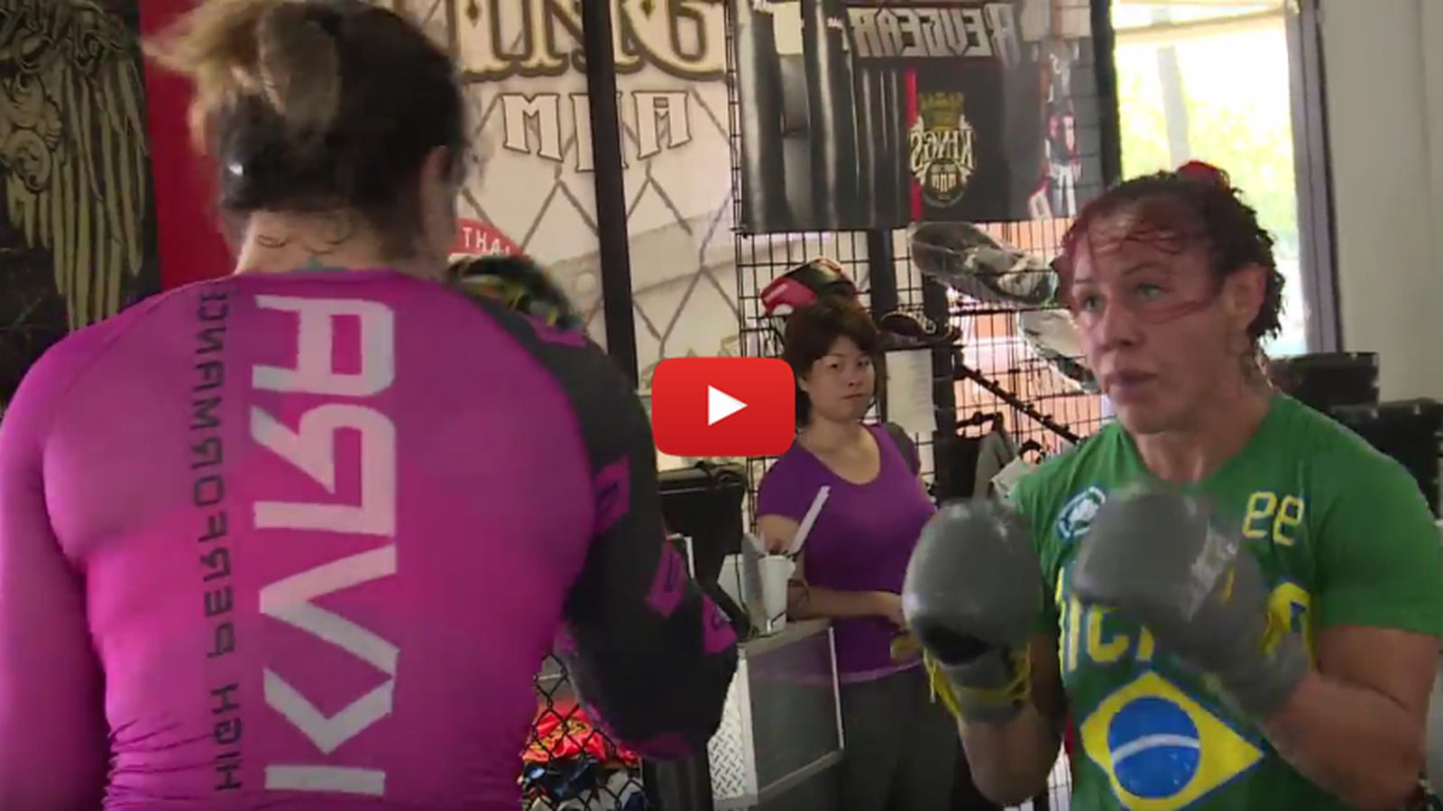 Video: Gabi Garcia dwarfs Cris Cyborg while sparring for Rizin MMA debut - MMAmania.com