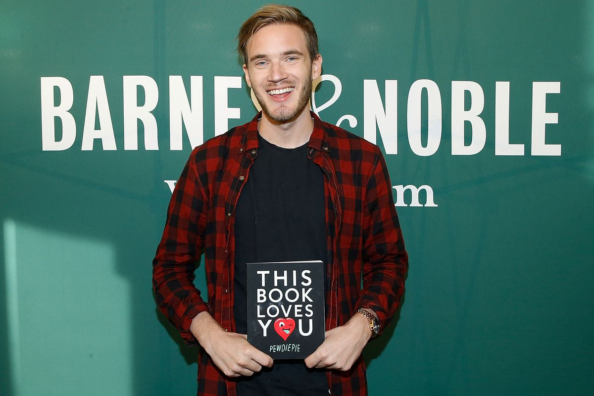 Pewdiepie and other youtubers took money from warner bros for john lamparskigetty images m4hsunfo Image collections