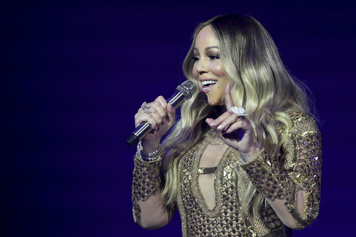 Mariah Carey looks back as 'All I Want For Christmas is ...
