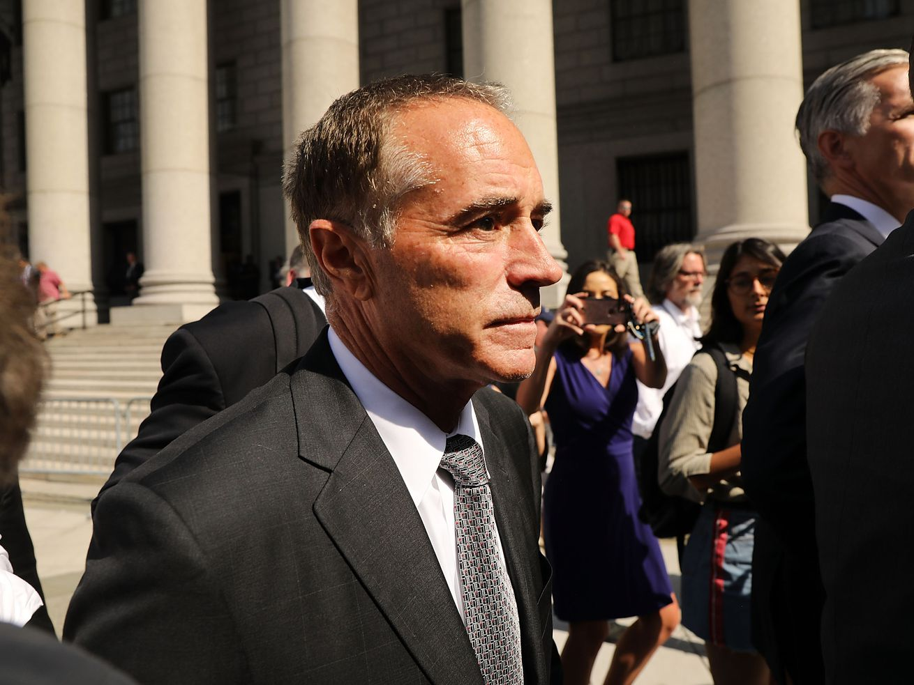 Rep. Chris Collins (R-NY) in August 2018.