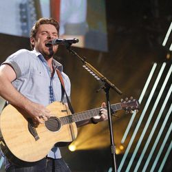 FILE - In this June 11, 2011 file photo, Chris Young performs during the CMA Fan Fest in Nashville, Tenn.  Young is up for male vocalist of the year for the Academy of Country Music Awards on Sunday, April 1, 2012, in Las Vegas.