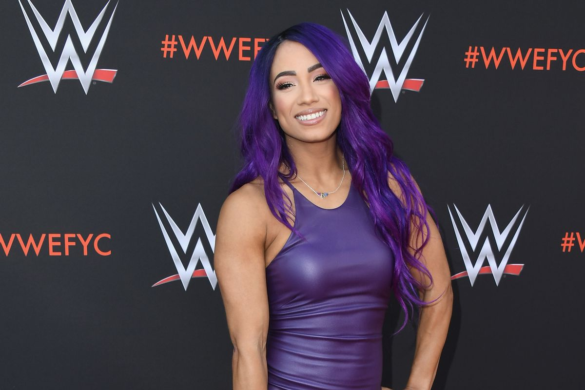 """Sasha Banks attends WWE's First-Ever Emmy """"For Your Consideration"""" Event at Saban Media Center on June 6, 2018 in North Hollywood, California."""