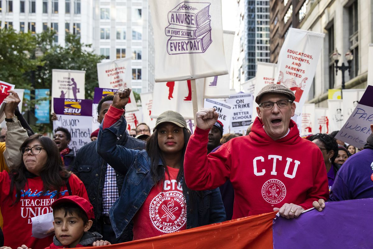 Chicago Teachers Union president 'overwhelmingly certain' there will be a strike