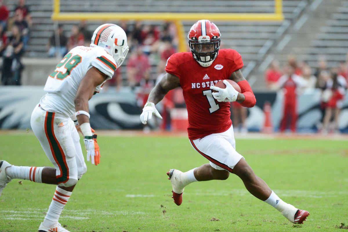 NCAA Football: Miami at North Carolina State