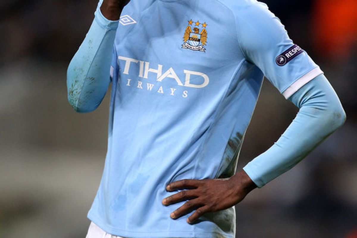 Mario Balotelli: Just mental really. Can't say much more than that.