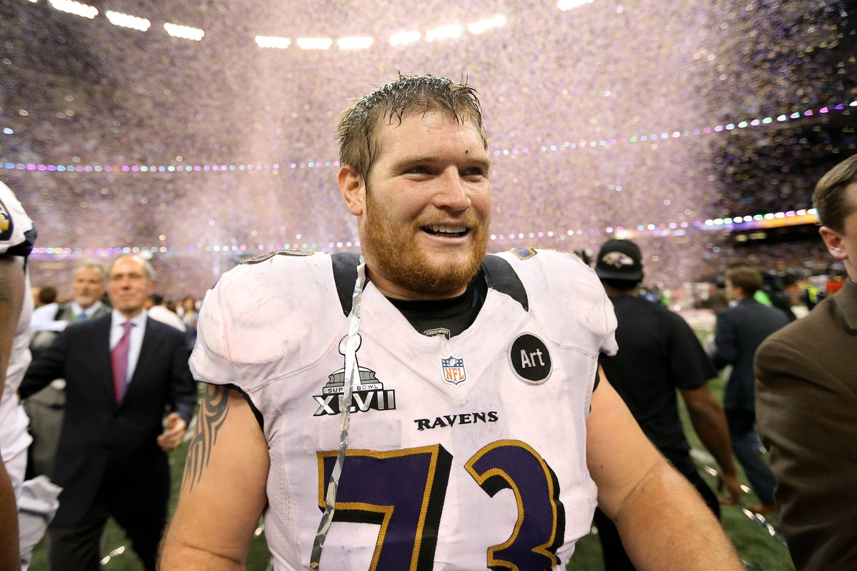 Marshal Yanda (pictured) and Kelechi Osemele could wind up being one of the NFL's better guard duos.