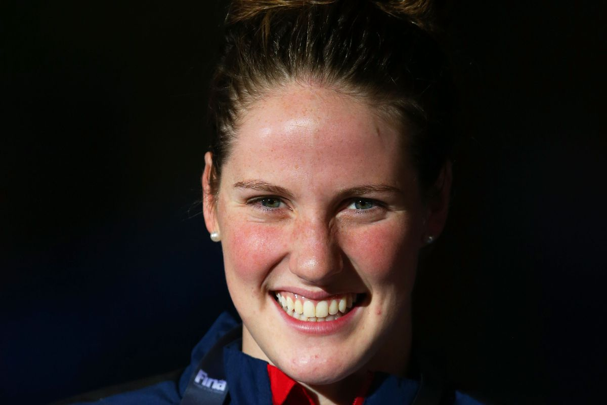 Missy Franklin is not only excited to have won medals at World last month, but also starting college this week.
