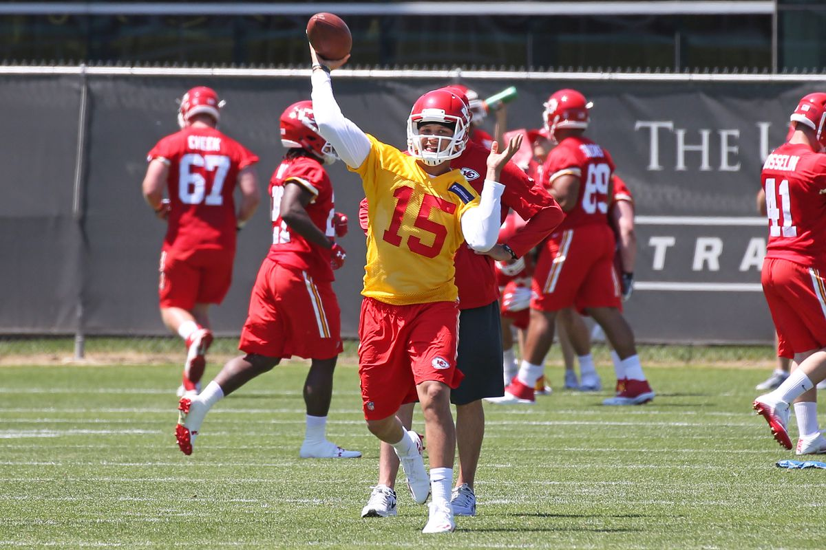 NFL: MAY 07 Chiefs Rookie Camp