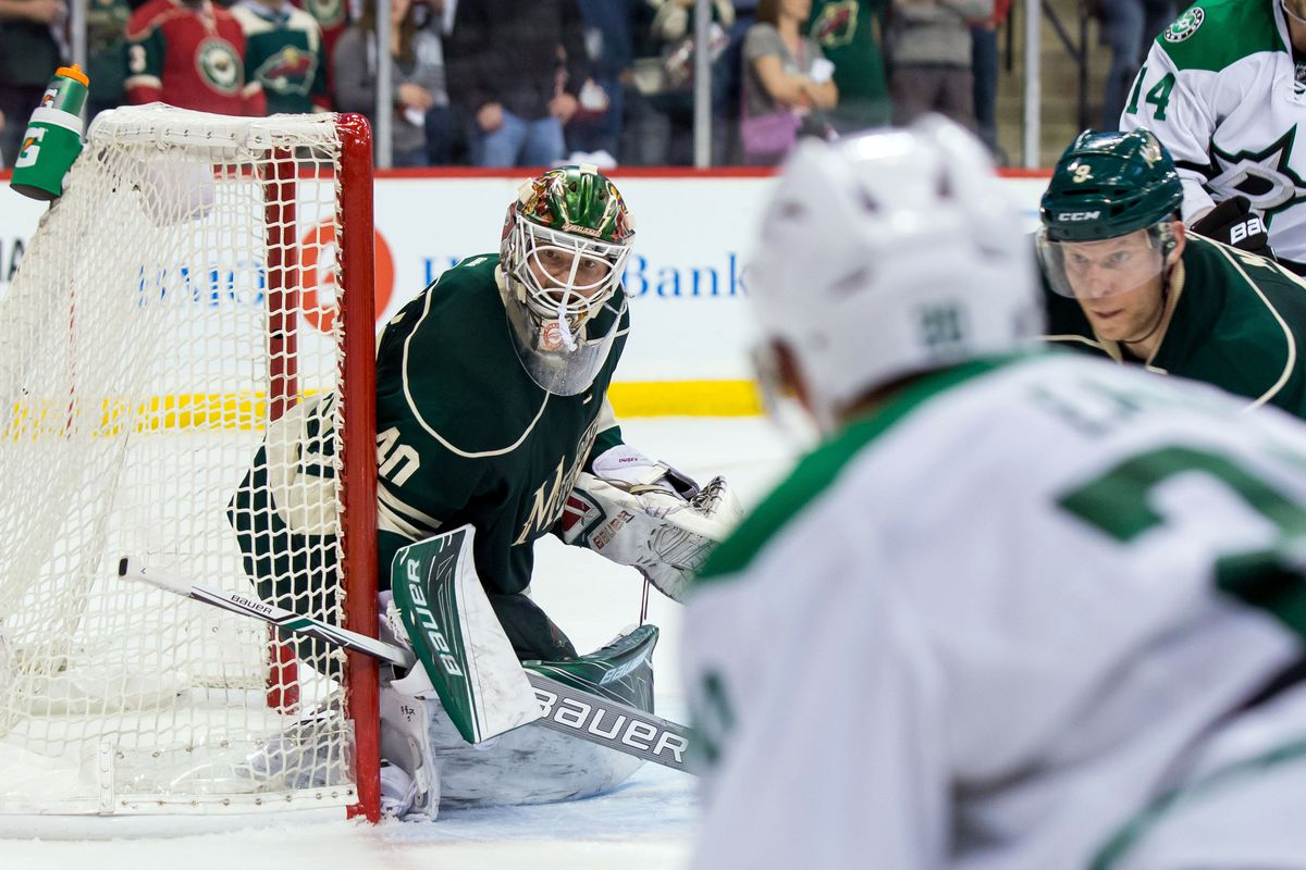 How to solve Dubnyk? More pucks might be a good place to start.