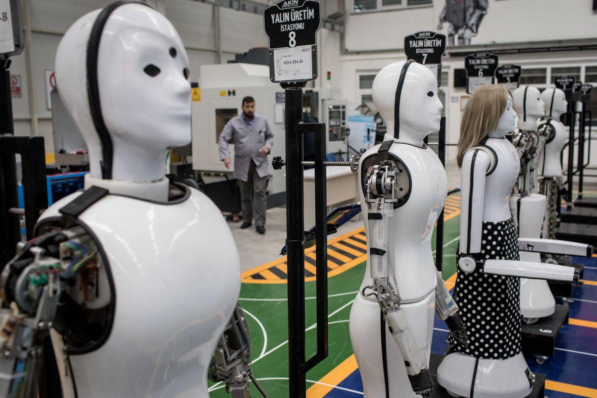 Inside Turkey's First Humanoid Robotics Factory