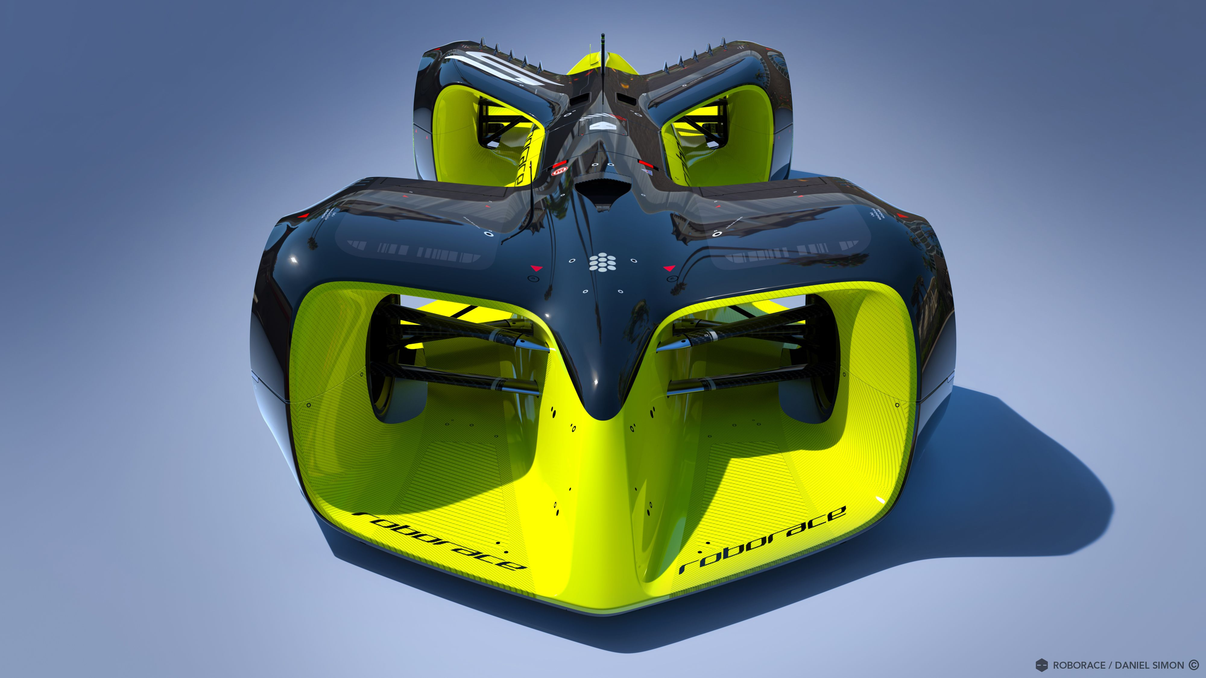 These are the crazy futuristic cars of Roborace, the world's