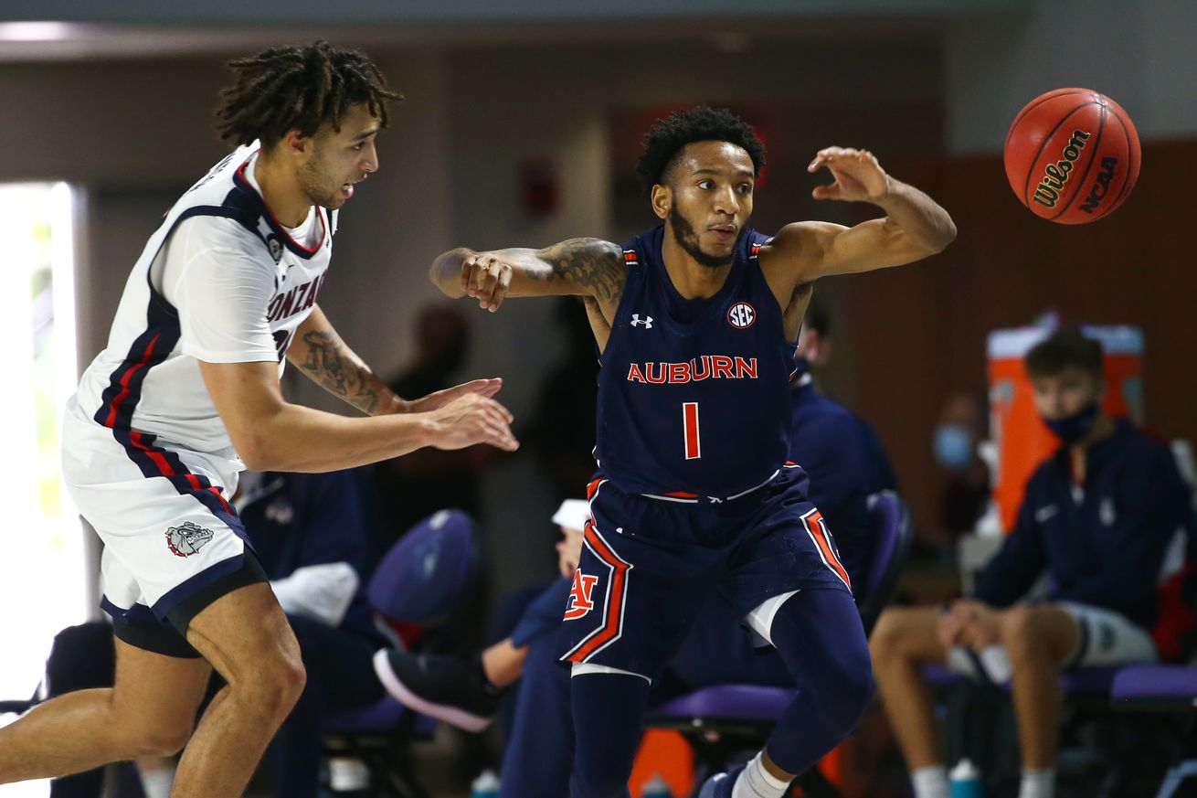 NCAA Basketball: Gonzaga at Auburn